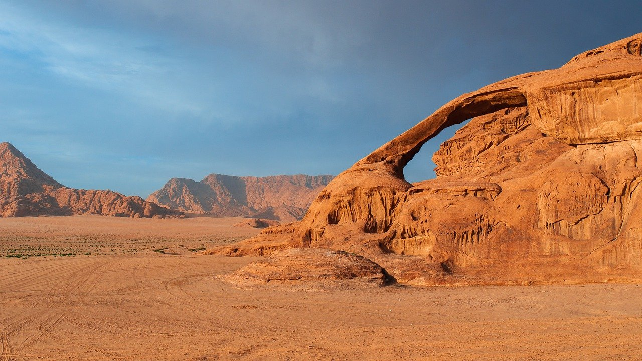 Read more about the article in the desert